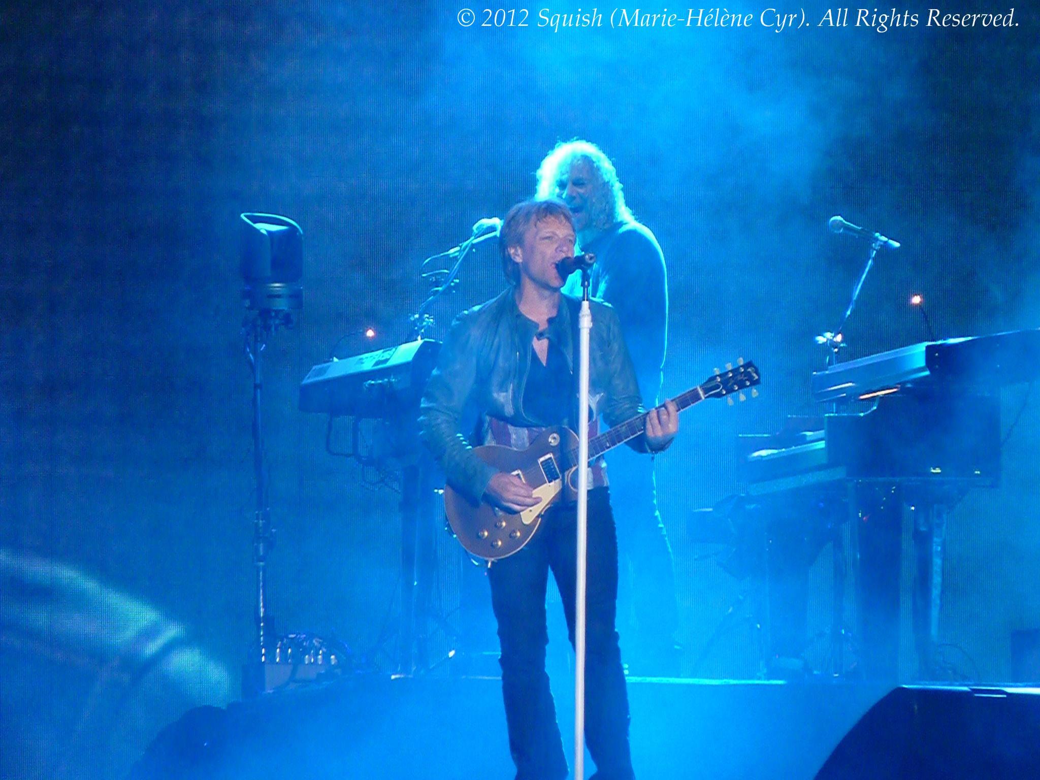 Bon Jovi - Plaines d'Abraham (Festival d'été de Québec), Québec, Canada (9 juillet 2012)